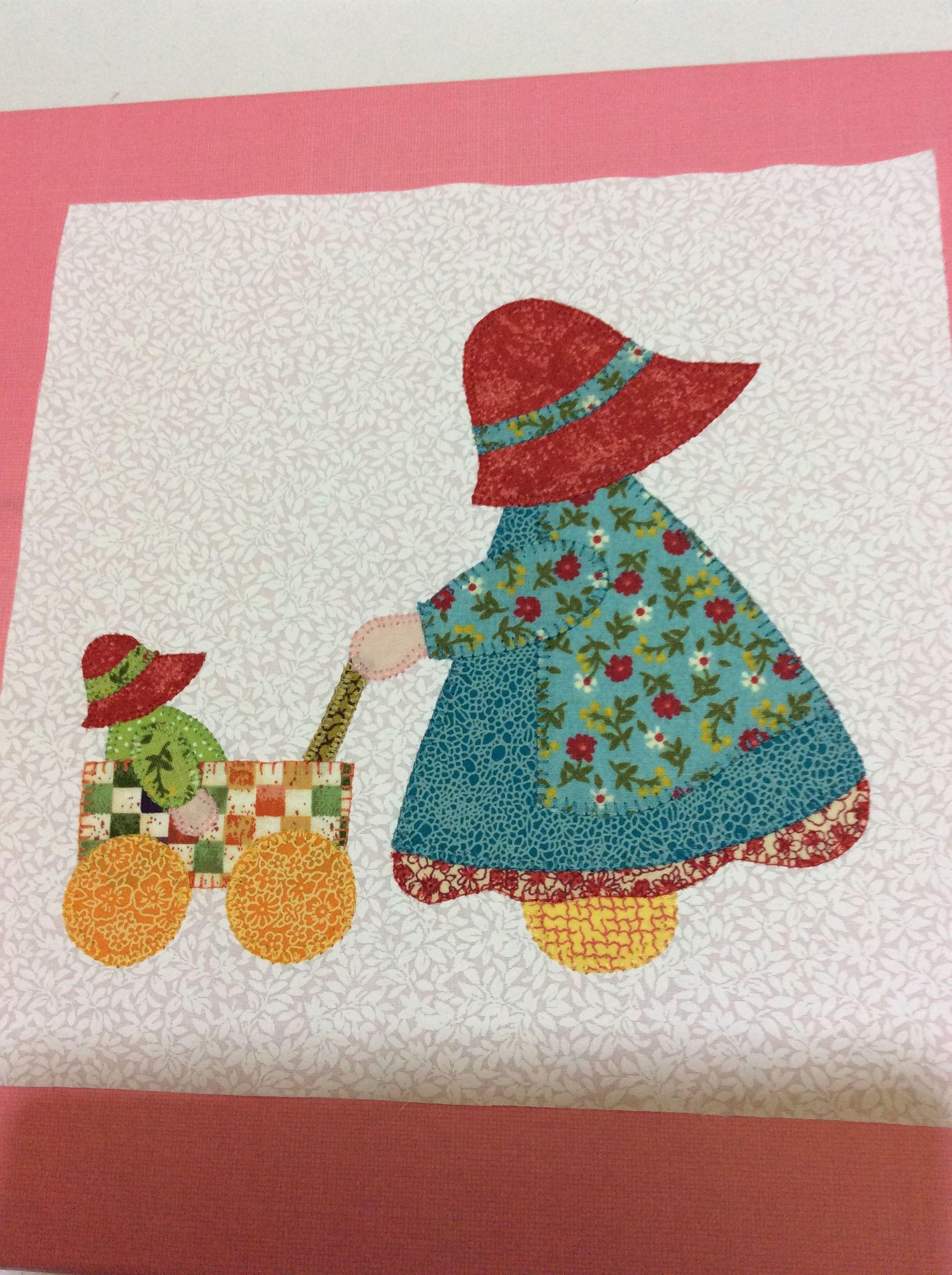 Pin von Mary Allen auf Quilts Sunbonnet Sue   Pinterest