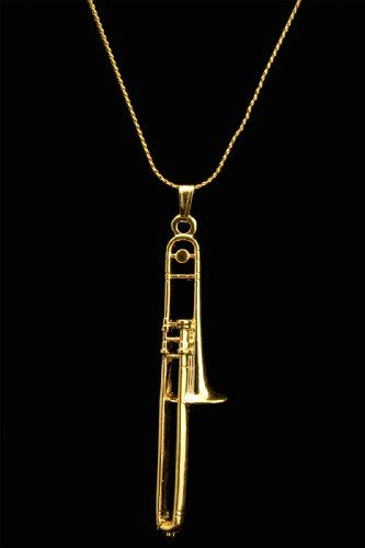 Pewter Fashion Jewelry Musical Instruments & Gear Harmony Jewelry Soprano Sax Necklace