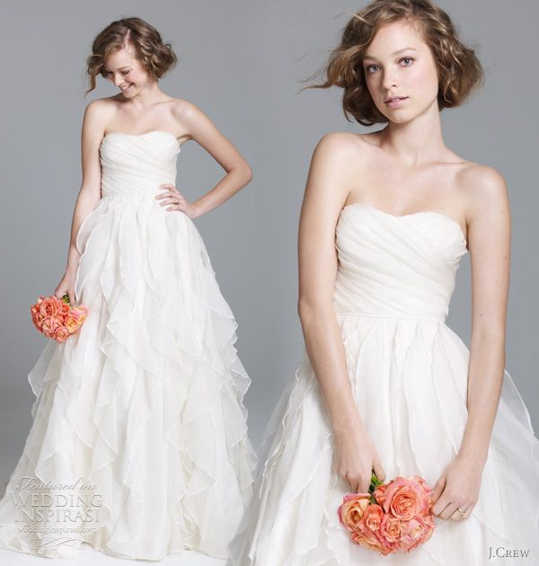 J.Crew Wedding Dresses — Fall 2011 Preview | hustle your bustle ...