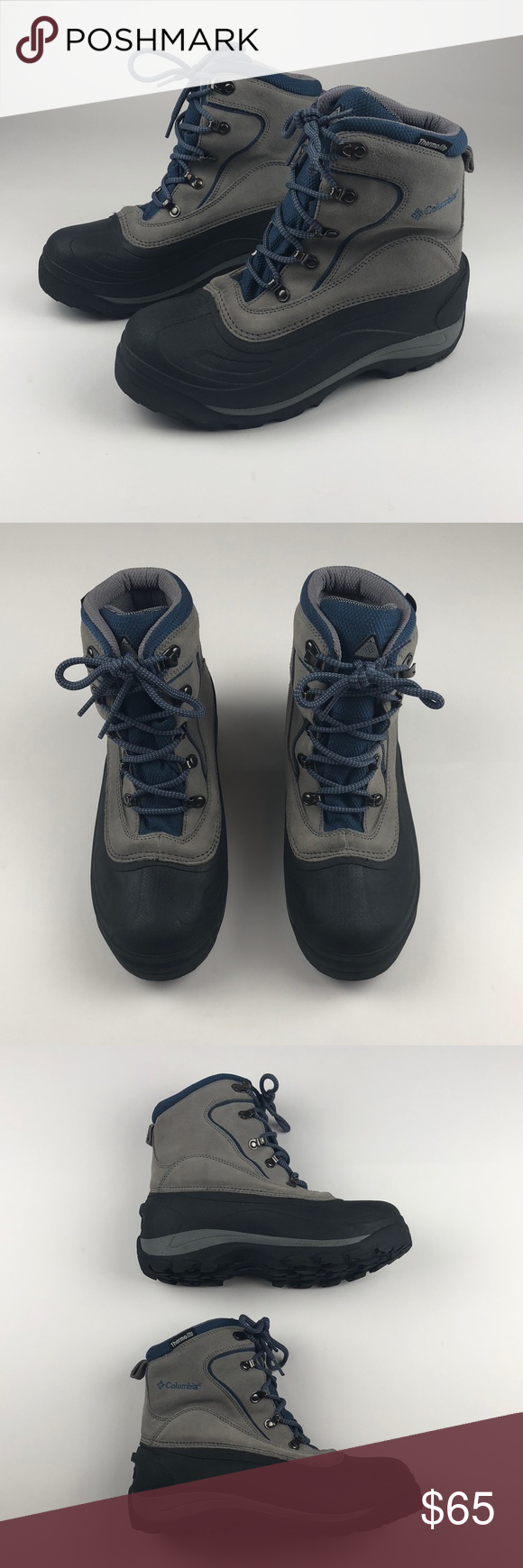 Columbia Water Resistant Thermo Lite Boots Sz 9 | Columbia ...