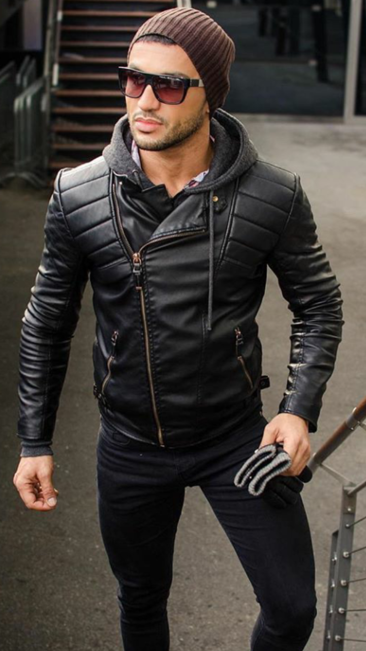 Leather More Jackets Men Fashion Leather Jacket Outfits Leather Jacket Men [ 1280 x 720 Pixel ]