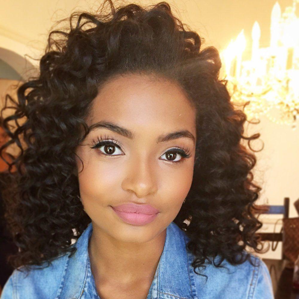 Yara Shahidi - Google Zoeken Natural Hair Styles Black Girls