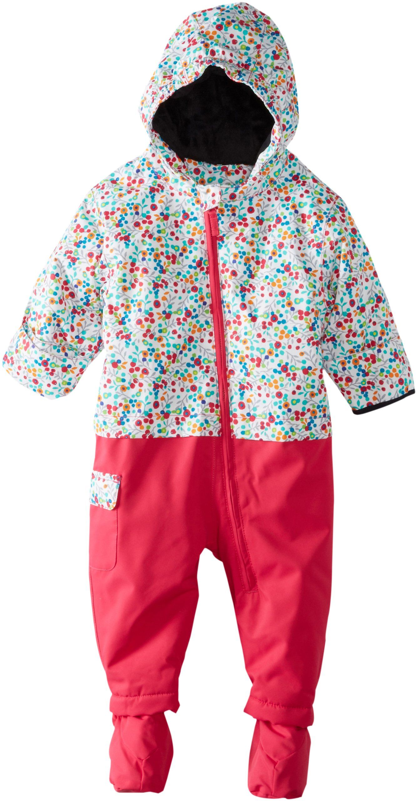 Roxy SNOW Baby Girls Sweet Pea e Piece Floral 12 Months