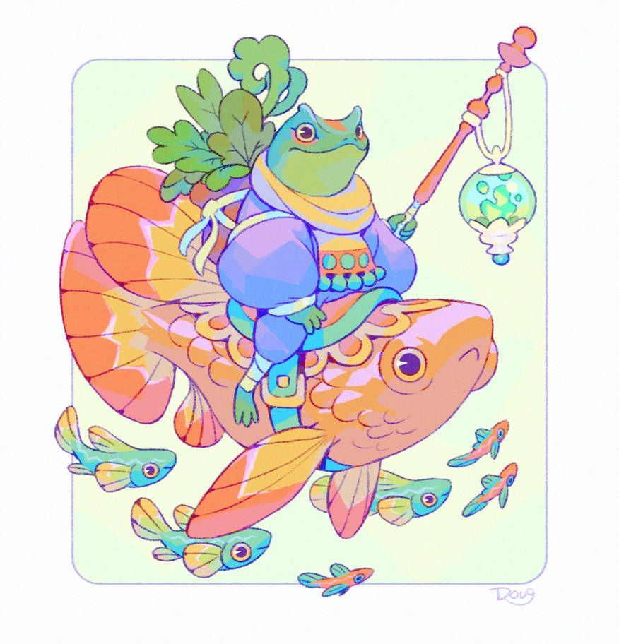 The Seaweed Harvester By Astral Requin Deviantart Art W 2019 Concept Art Art I Fan Art