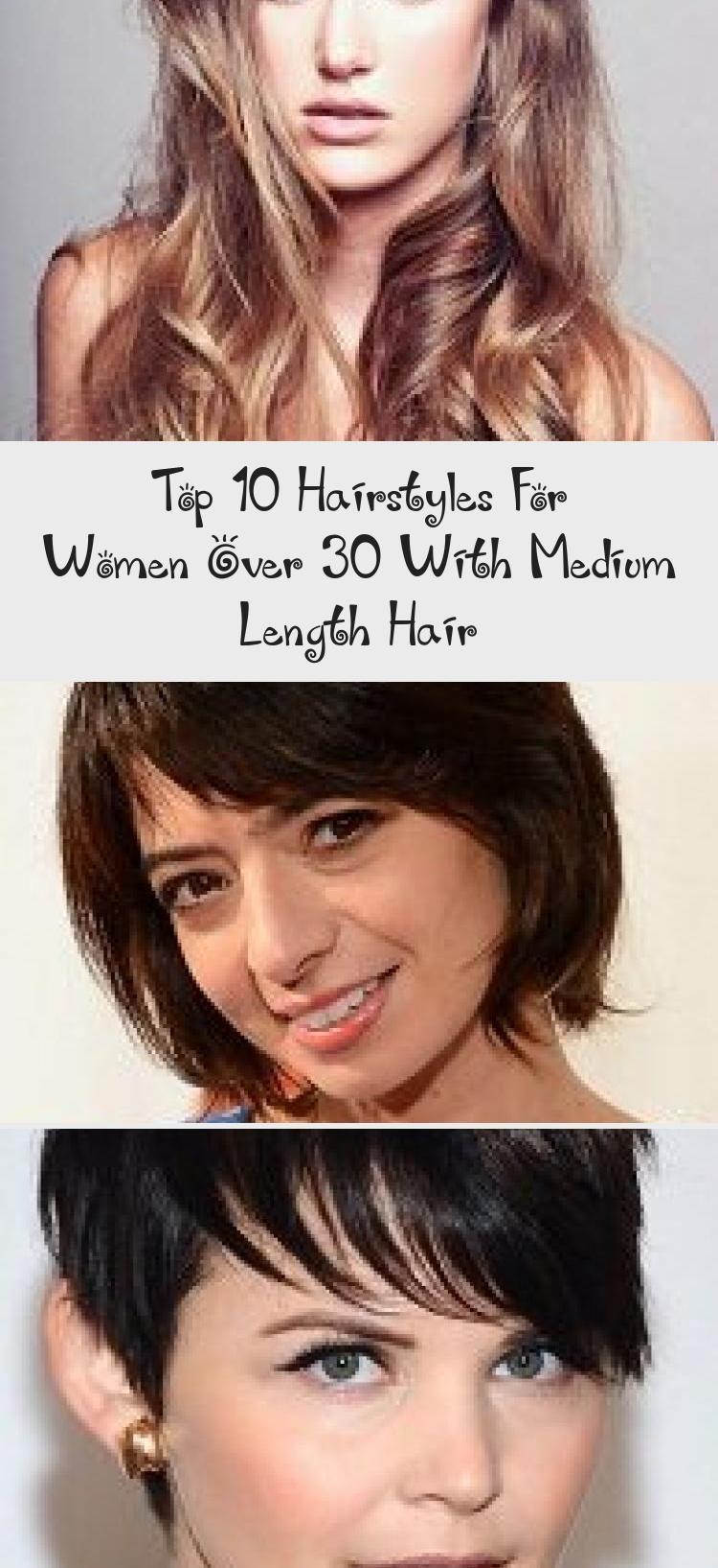 Top 10 kapsels voor vrouwen ouder dan 30 met halflang haar – kapsel in 2020    Top 10 hair styles, Hair lengths, Medium length hair styles