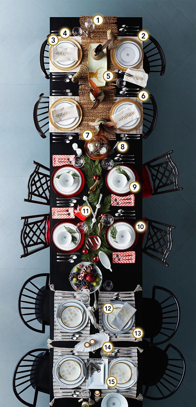Target: One Table, Three Holidays