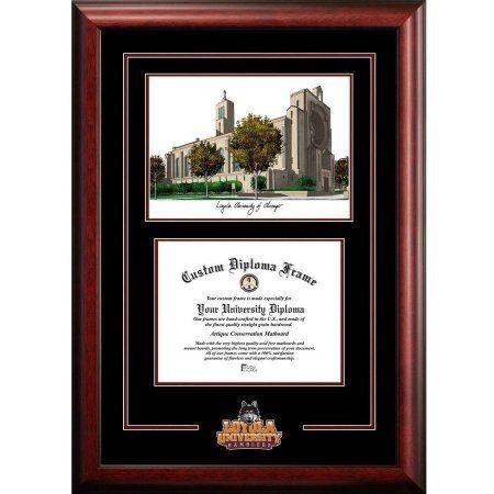 Loyola University Chicago 8.5 inch x 11 inch Spirit Graduate Diploma ...