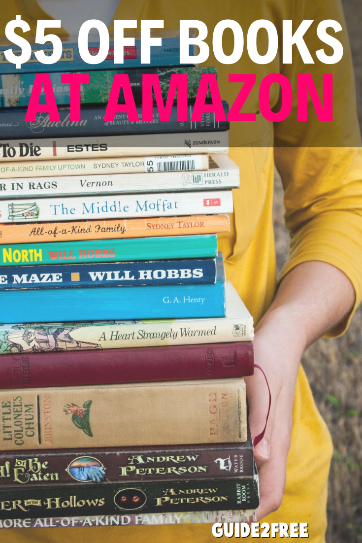Amazon Coupon 5 Off 15 Print Books Best Money Saving Tips Book Print Free Amazon Products