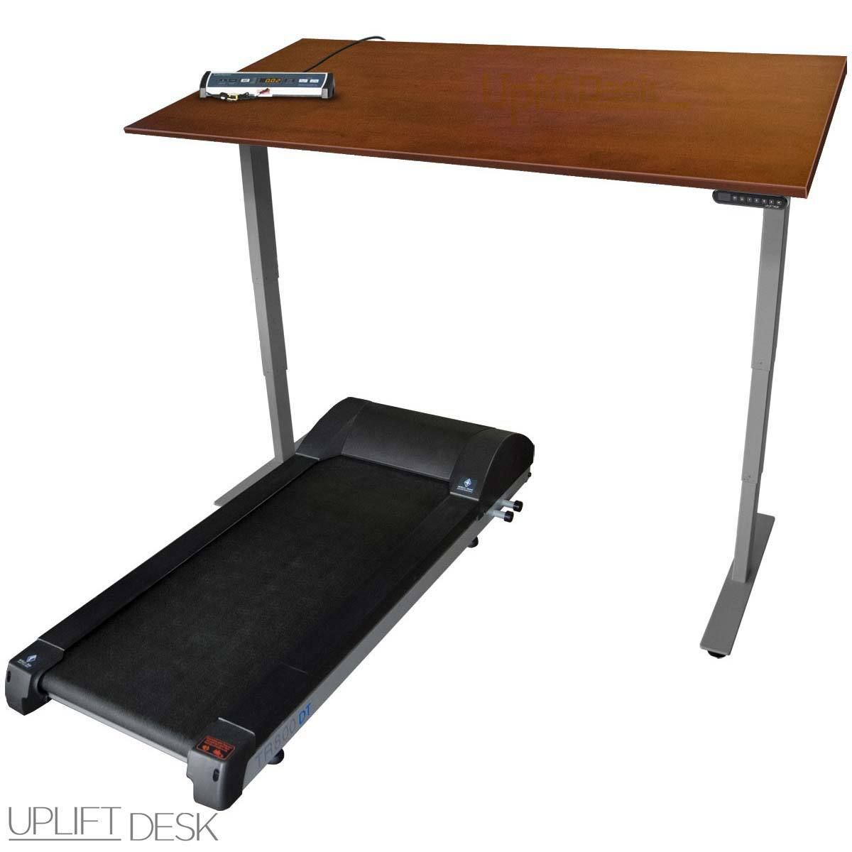 Sit Stand And Walk Throughout The Day With The Uplift Treadmill Desk Combat Sitting Disease And Access The Many Benefits Of Movement Treadmill Desk Desk Best Standing Desk