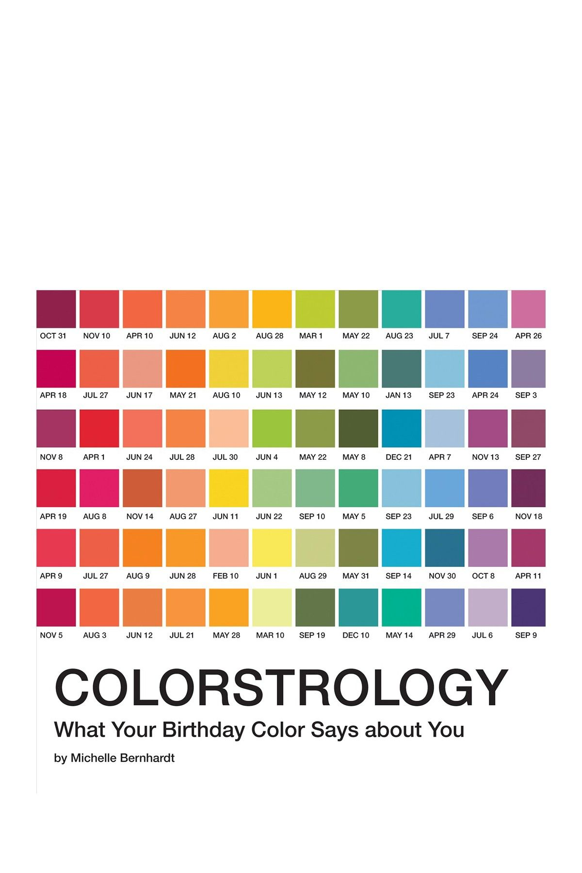 Penguin Random House Colorstrology What Your Birthday Color Says About You Hautelook Astrology Books It S Your Birthday Pantone Color