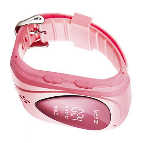 Toogoor waterproof smart wrist watch gsmgprs real time tracking toogoor waterproof smart wrist watch gsmgprs real time tracking alarm for kids with google map sim card slot sos call button and mobile apps pink publicscrutiny Images