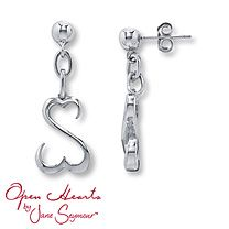 Open Hearts By Jane Seymour Earrings Match My Necklace Perfectly