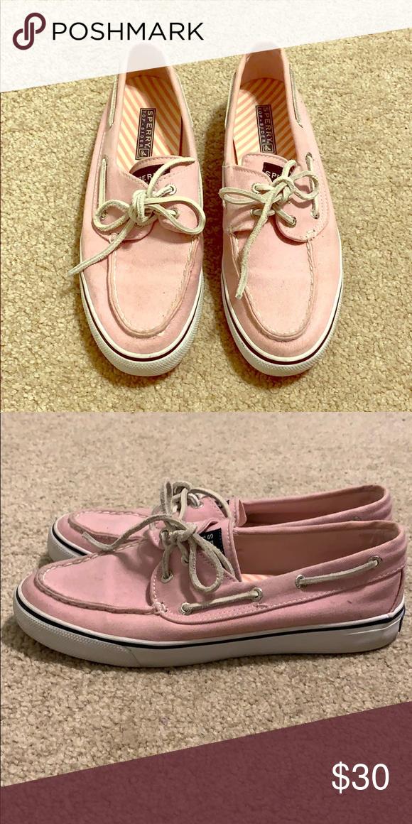 light pink sperrys | Pink sperrys