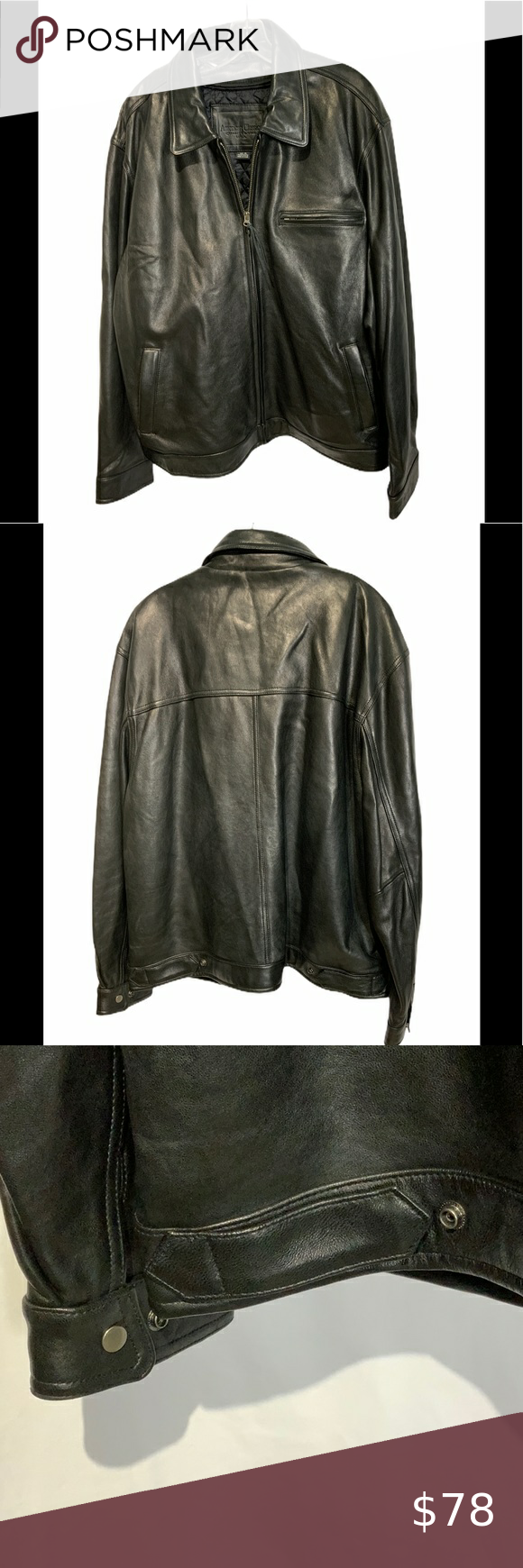 American Classic Quality Label 100 Leather Jacket American Classic Quality Label Even The Label Leather Jacket Classic Leather Jacket Leather Jacket Zipper
