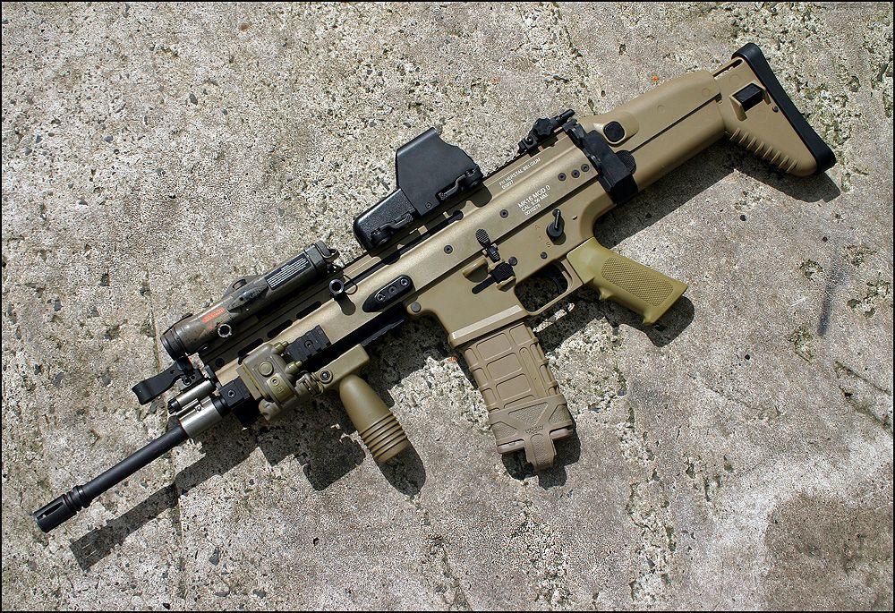 FN SCAR-L by Drake-UK deviantart com on @deviantART   Guns