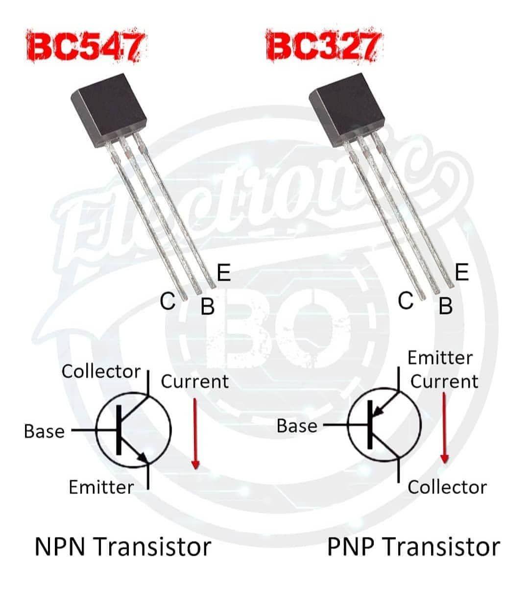 Npn Pnp Transistors Circuitbasics Circuits Iot