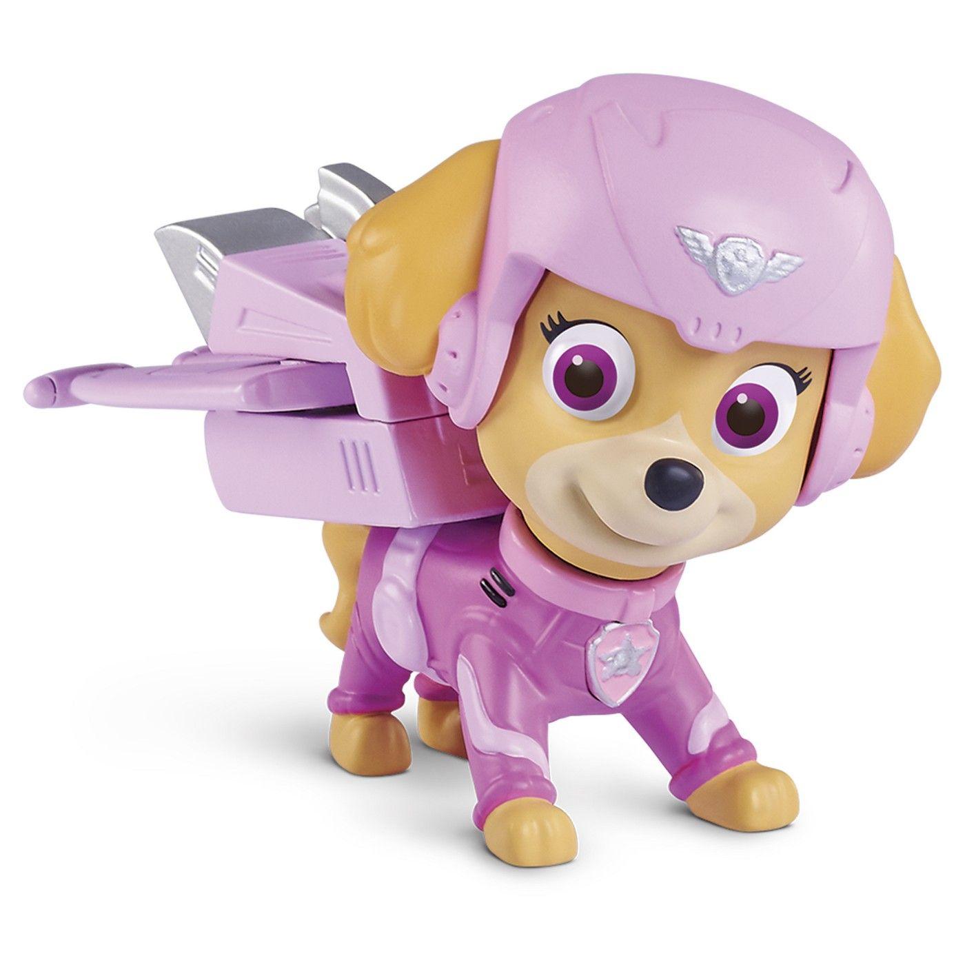 Paw Patrol - Air Rescue Skye, Pup Pack and Badge #Air