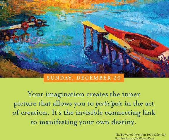 manifesting destiny and the power of intention