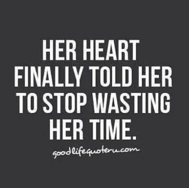 Time Wasted Quotes: Go Where Your Heart Pulls You - BrassyApple.com