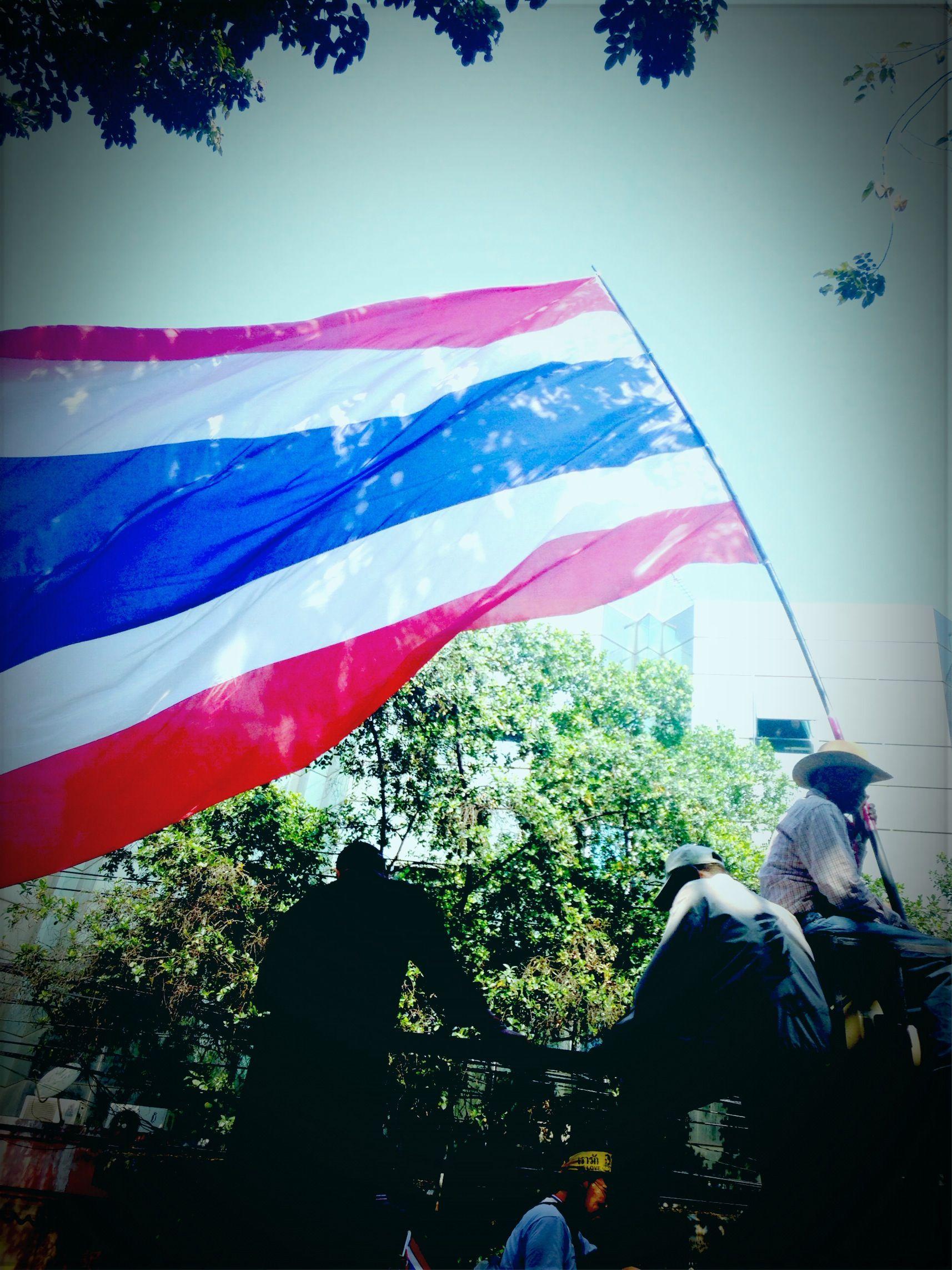 thaiuprising | Thai national flag! | Pinterest | National flag