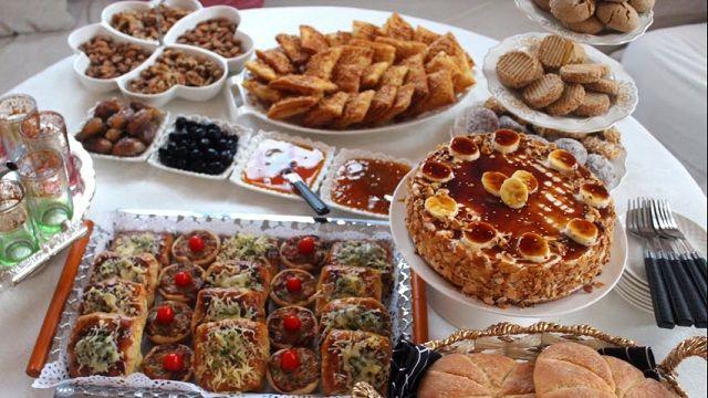 اقتراح رائع لمائدة ضيوف عيد المولد النبوي من الأخت أسماء Food Cooking Recipes Desserts