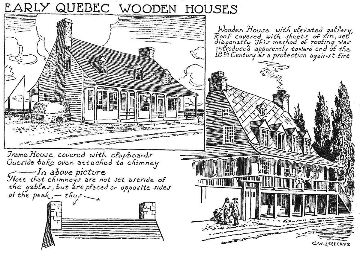 Cheap Maisons De Bois Du Dbut Du Qubec With Maison En Bois Quebec