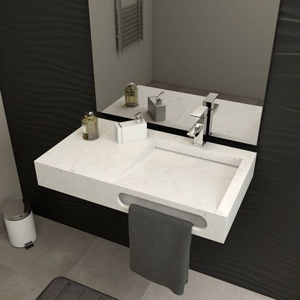 Mueble de lavabo zeus leroy merlin bathroom for Mueble libreria leroy merlin