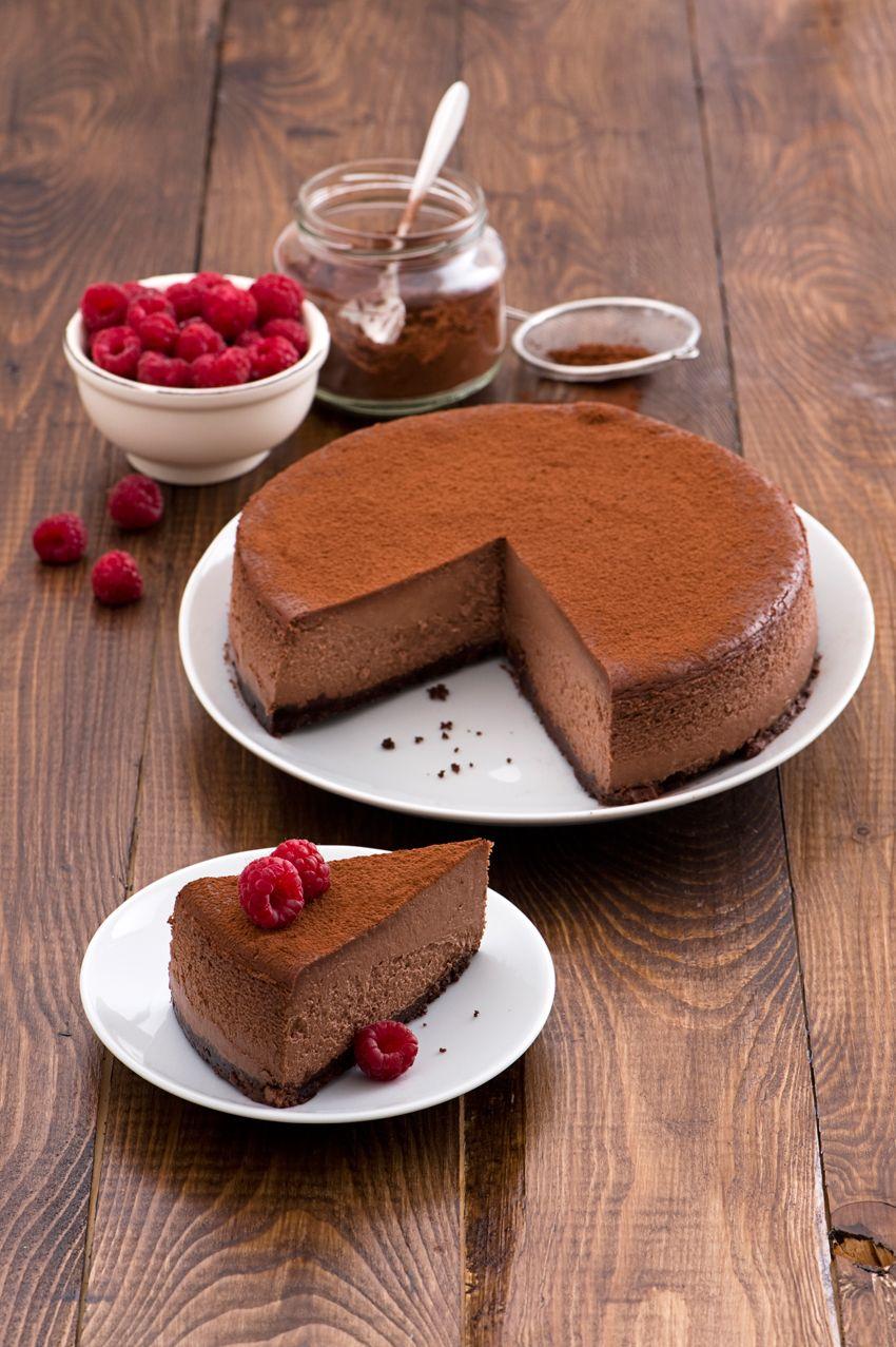 La cheesecake Choco noir - Scuola di cucina - Donna Moderna | Nice ...