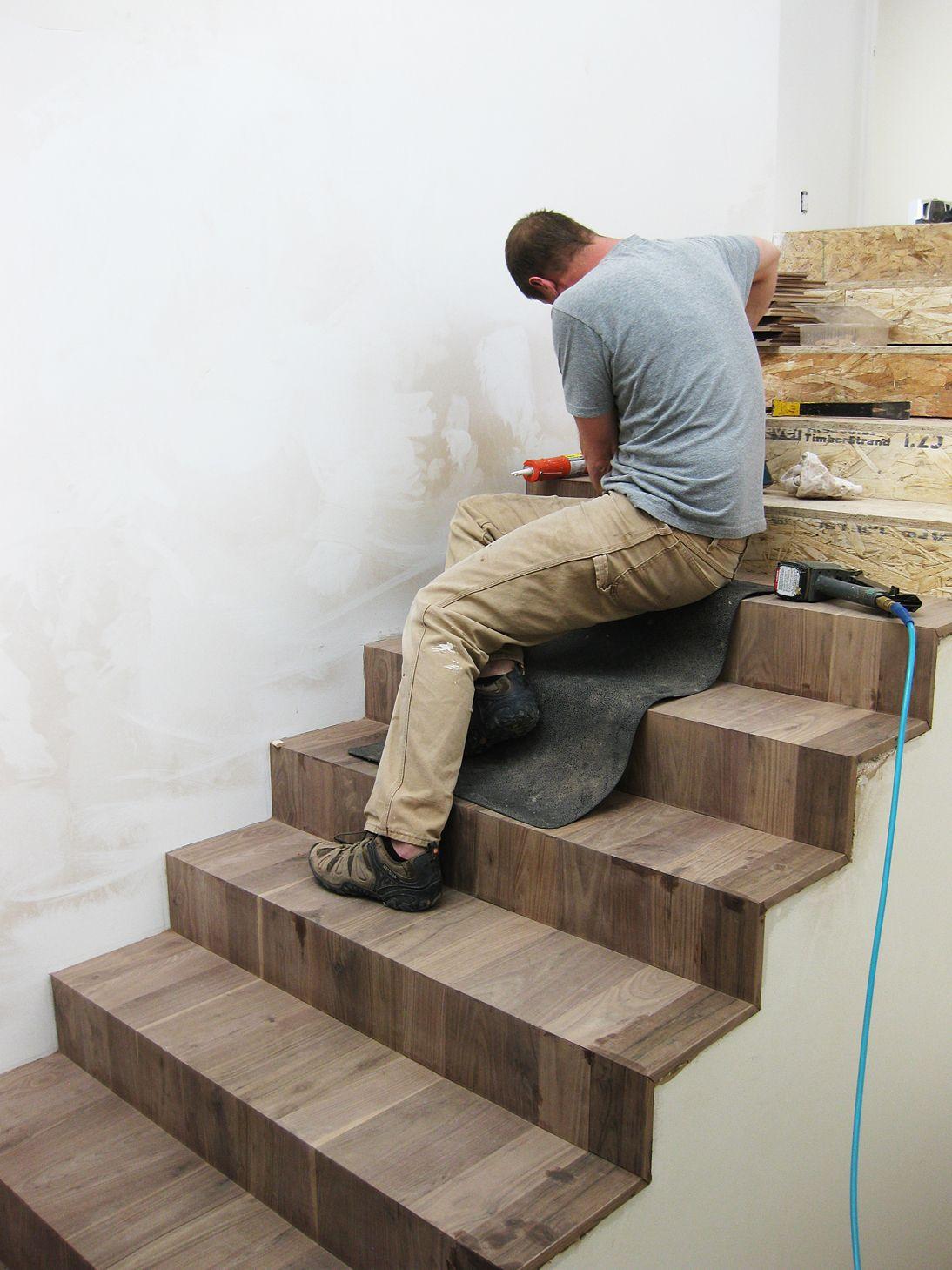 Cascading stair detail Stair detail, Stairs, Diy interior