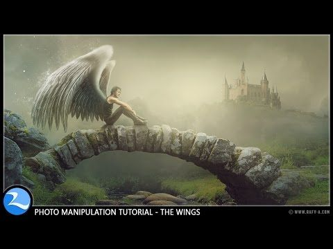 The Wings Photoshop Manipulation Effects Tutorial - rafy A