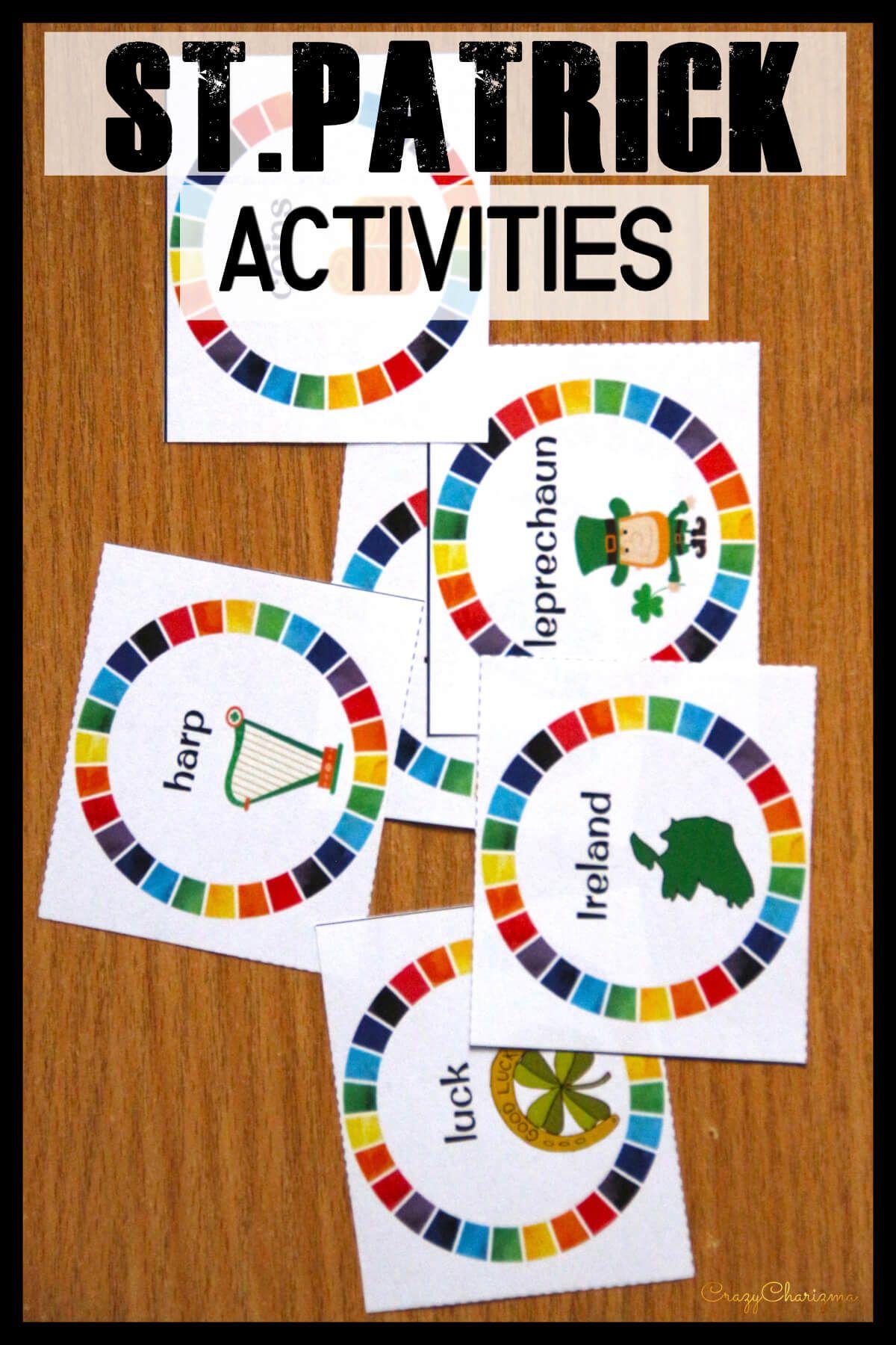 St Patrick S Day Activities For Kindergarten