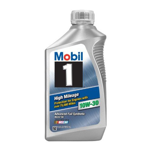Mobil 1 1035356pk High Mileage 10w30 Motor Oil 1 Quart Pack Of 6 Click On The Affiliate Link Amazon Com On Image For Additiona Synthetic Oil Motor Oil Oils