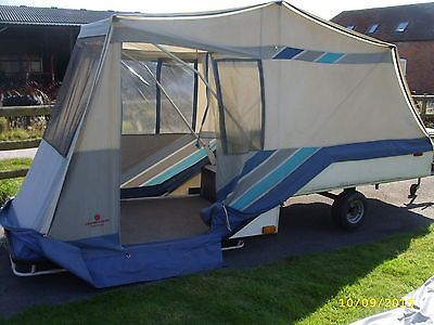 Combi Camp Trailer Tent Folding Camper With Awning Combi Camp Trailer Tent Tent