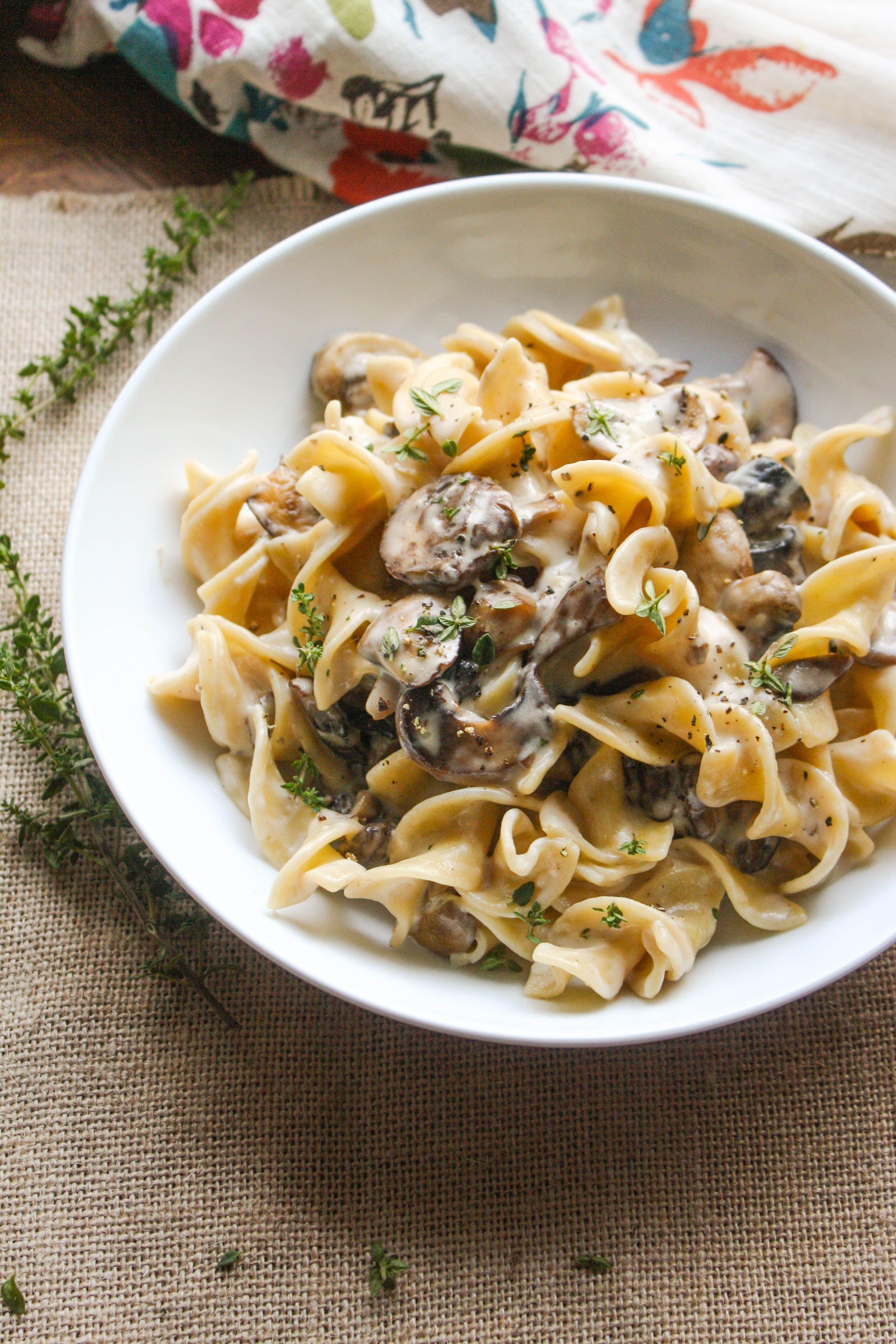 Mushroom Stroganoff Recipe Mushroom Stroganoff Tasty Dishes