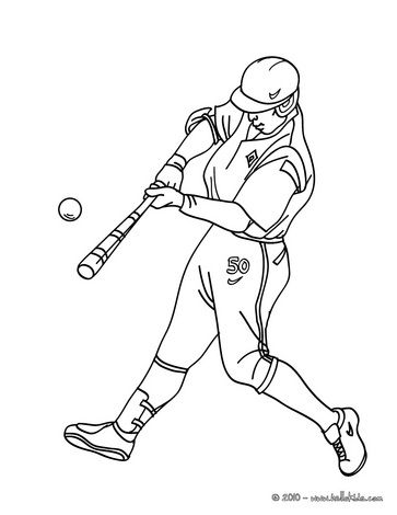 Baseball Pictures To Color And Print Out Coloring Pages From