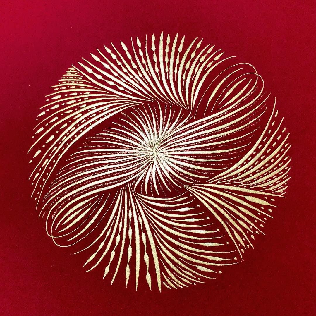 Calligraphy flourish by traci thompson tmtcalligraphy