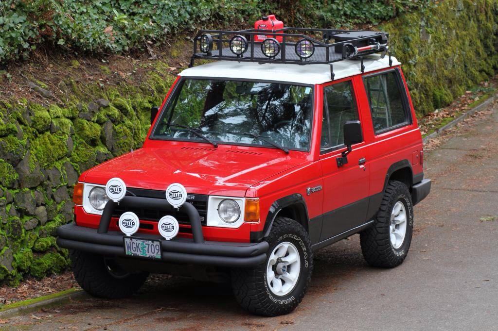 1987 Mitsubishi Montero Mitsubishi Pajero Mitsubishi Dream Cars