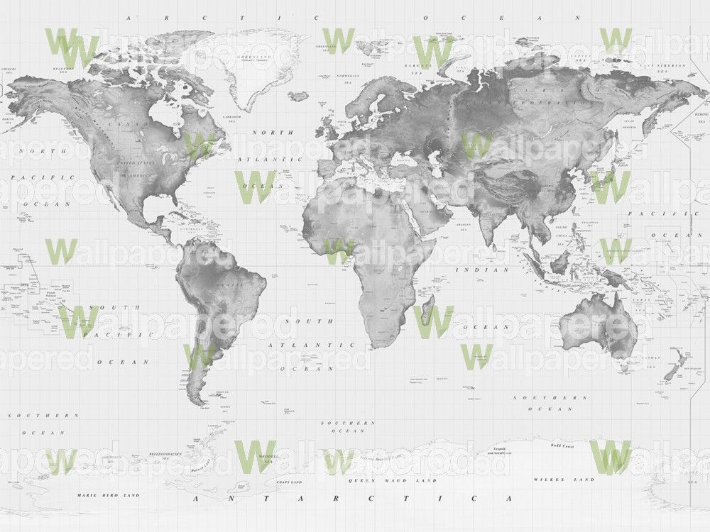 World map wallpaper black and white home design ideas black white world map wallpaper mural wall coverings gumiabroncs Choice Image