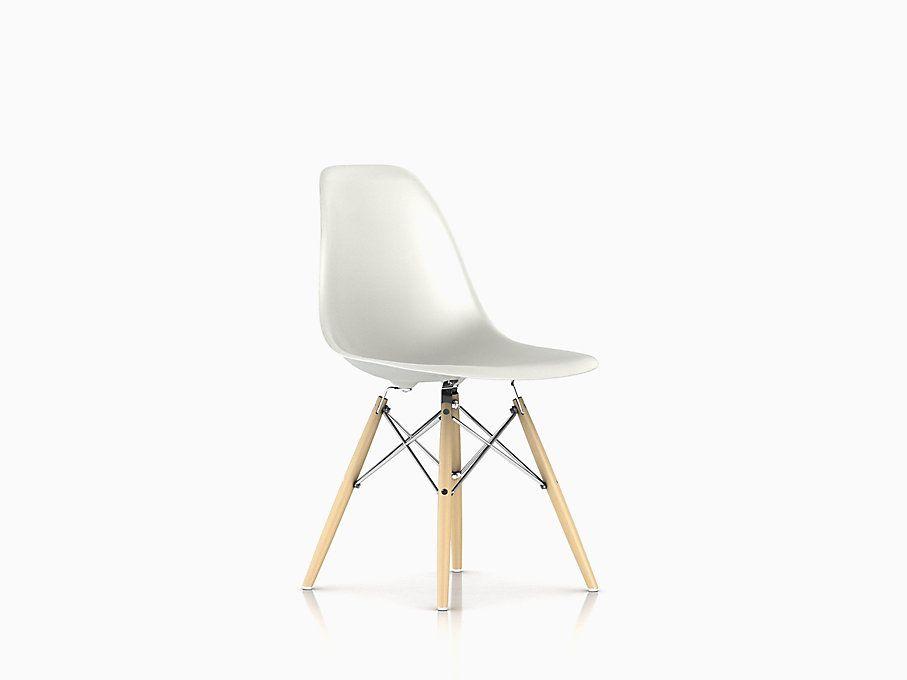 Eames Molded Plastic Side Chair Dowel Base Eames Molded Plastic Side Chair Side Chairs Chair