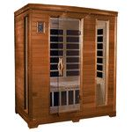 <strong>Grand 3 Person Carbon FAR Infrared Sauna</strong> by Dynamic Infrared