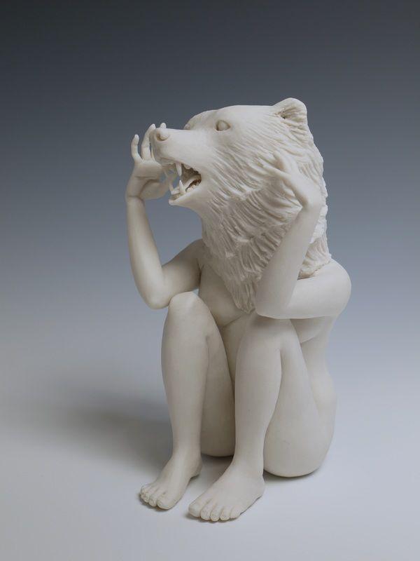 Crystal Morey Animal Sculptures Sculpture Human Sculpture