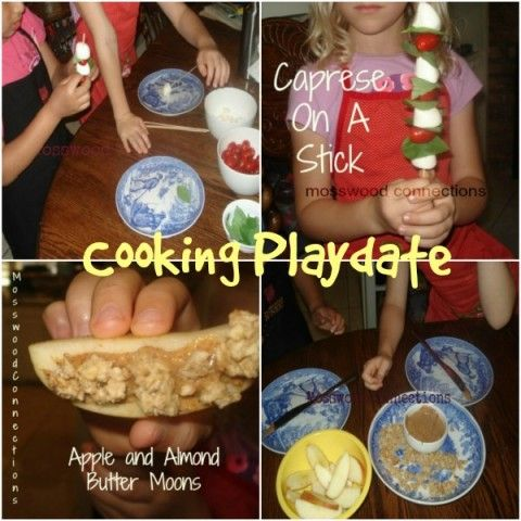 Cooking Playdate Collage