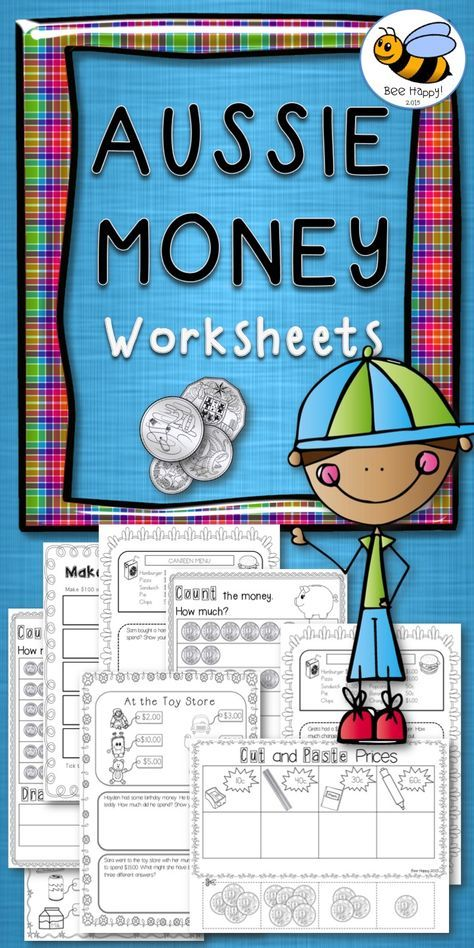 Australian Money Worksheets Year 12 Printables Pinterest Math