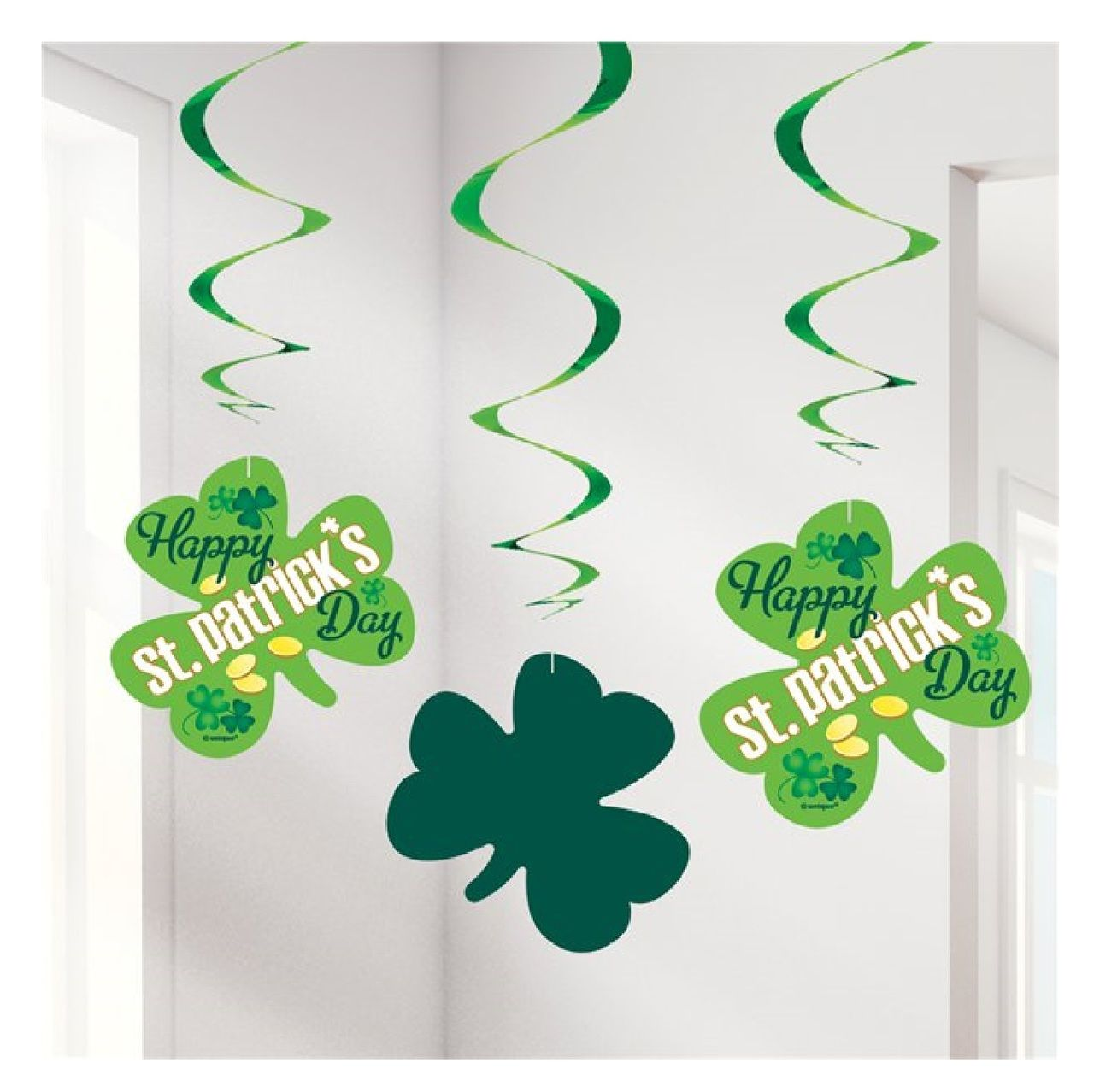 Happy st patricks day shamrock decorations in 2020 irish