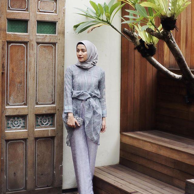 My kondangan looks last weekend  wearing outfit from @myvb_atelier