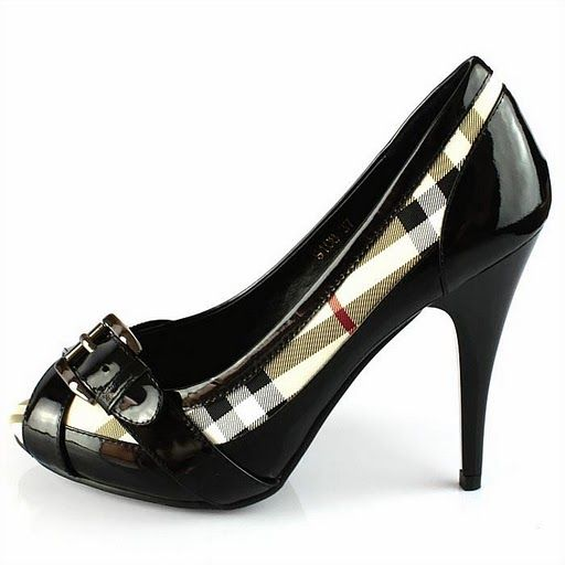 BURBERRY - High Heels Shoes Black and