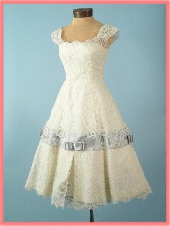 Vintage Wedding Dresses | Vintage weddings, Chantilly lace and ...