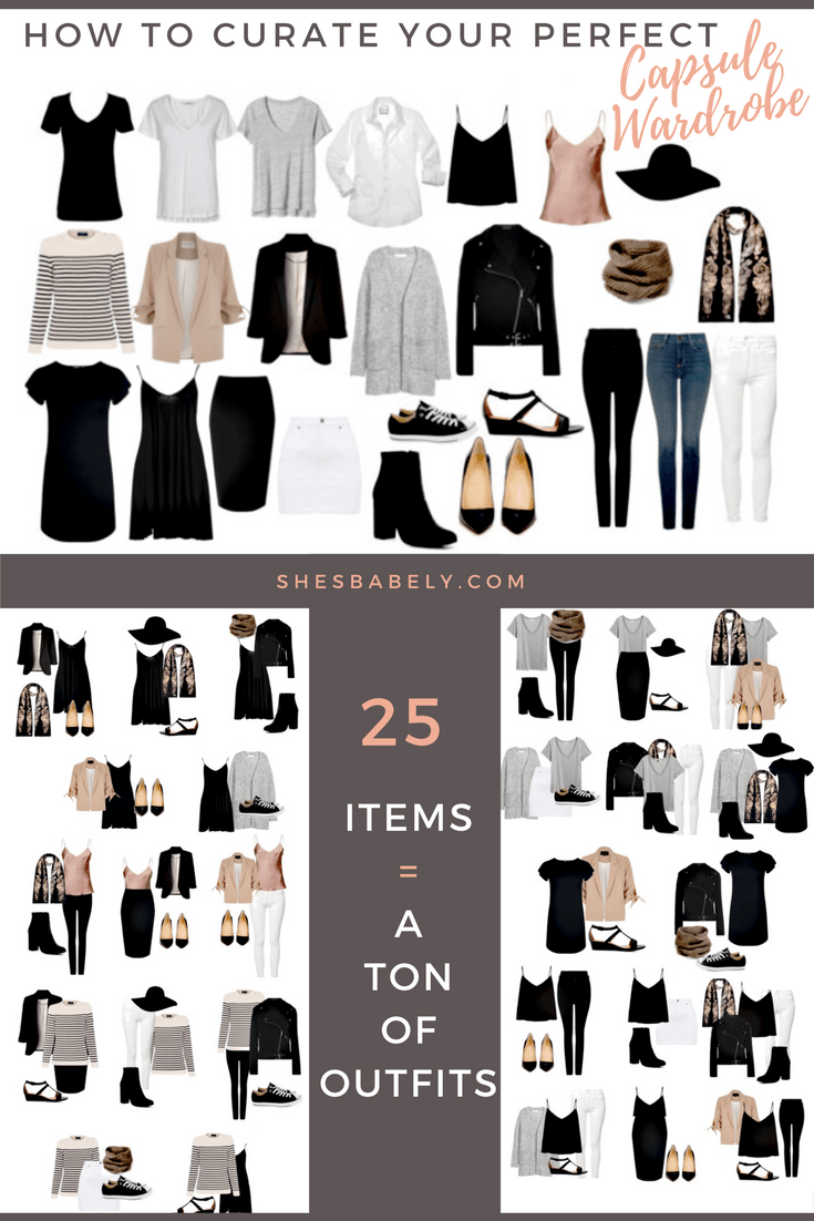 How To Build A Capsule Wardrobe (Plus Free Workbook!) Define your style. Purge your closet, keep only the things you truly love and wear, and train yourself to stop buying clothing you don't need. www.beautyisgf123.com #shoecloset
