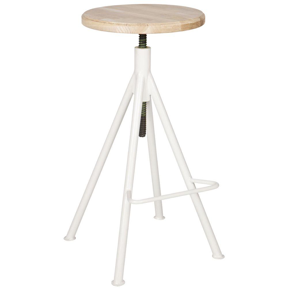 hocker barhocker lily wei h henverstellbar auswahl 1 x hocker barhocker lily wei. Black Bedroom Furniture Sets. Home Design Ideas