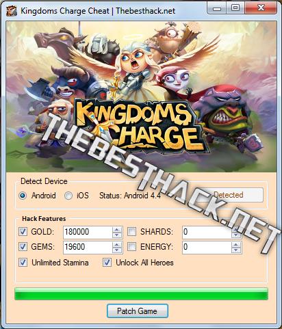 Kingdoms Charge Hack Cheat